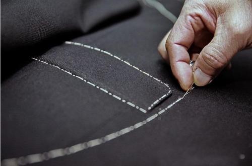 沈记西服服装厂的生产流程