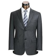 男式商务条纹西装