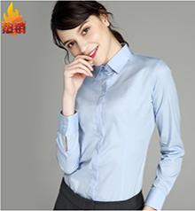 女式长袖职业衬衫