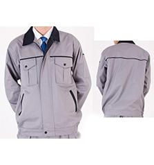 长袖夹克工作服套装