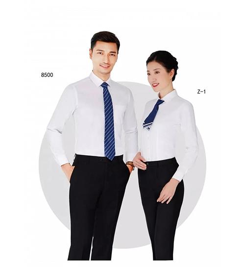 白衬衫职业装